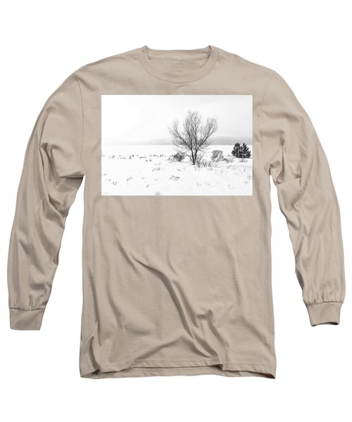 Cold Loneliness Long Sleeve T-Shirt by Hayato Matsumoto