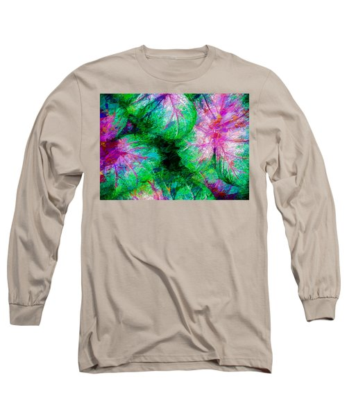 Long Sleeve T-Shirt featuring the photograph Coleus by Paul Wear