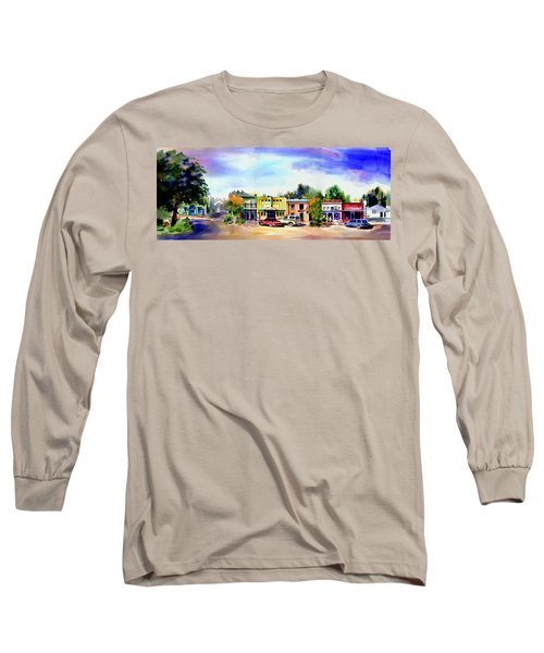Colfax Main And Church Street Long Sleeve T-Shirt