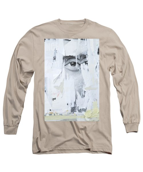 Street Collage 2 Long Sleeve T-Shirt by Colleen Williams