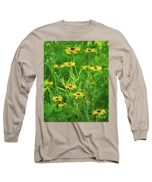 Long Sleeve T-Shirt featuring the photograph Collection In The Clearing by Bill Pevlor