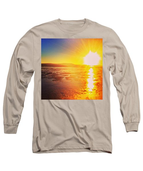 College Sunset Long Sleeve T-Shirt