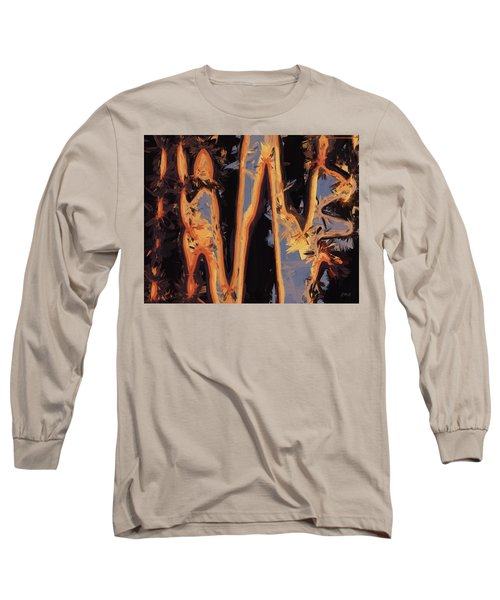 Color Abstraction Xli Long Sleeve T-Shirt