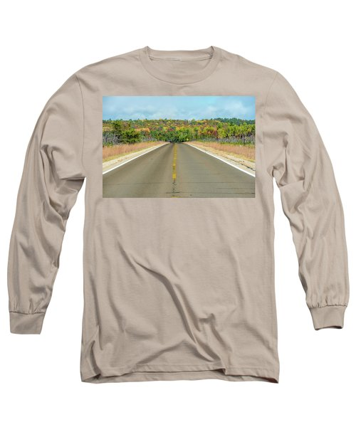 Color At Roads End Long Sleeve T-Shirt