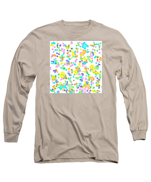 Color Blots Long Sleeve T-Shirt