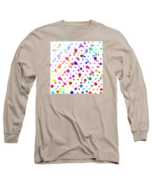 Color Cells Long Sleeve T-Shirt