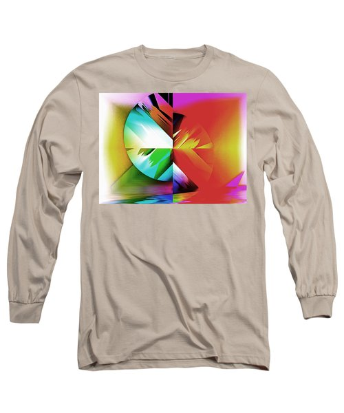 Color Of The Fractal Long Sleeve T-Shirt
