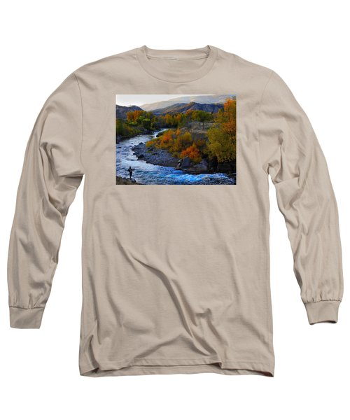 Color On The Fly Long Sleeve T-Shirt by Laura Ragland