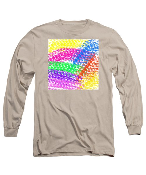 Color Treads Long Sleeve T-Shirt