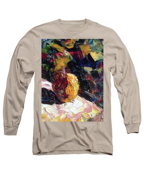 Color Volant Long Sleeve T-Shirt