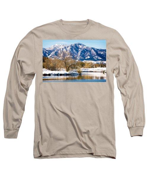 Colorado Flatirons 2 Long Sleeve T-Shirt
