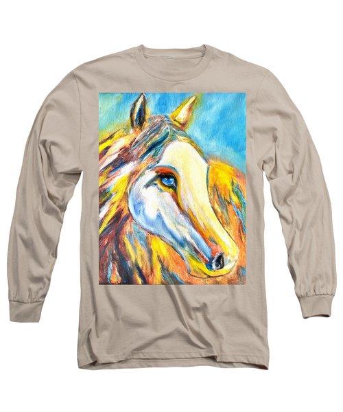 Colorful Horse Sensation Long Sleeve T-Shirt