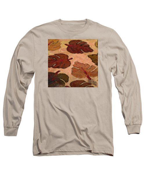 Colorful Leaves Long Sleeve T-Shirt