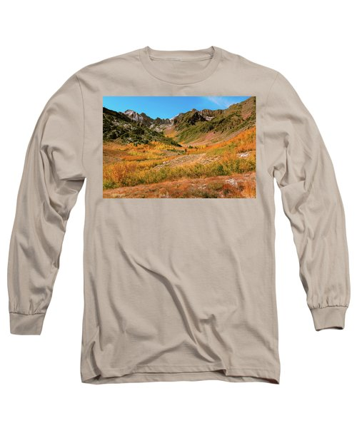 Colorful Mcgee Creek Valley Long Sleeve T-Shirt