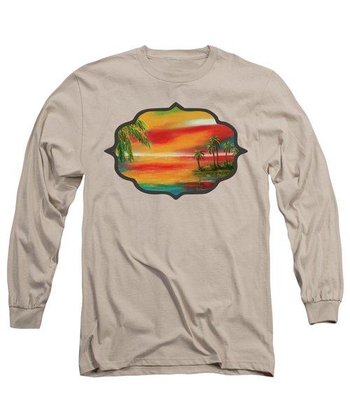 Colorful Paradise Long Sleeve T-Shirt
