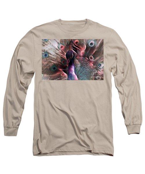 Colorful Peacock 1 Long Sleeve T-Shirt