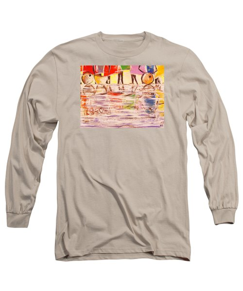 Colorful Reflections Long Sleeve T-Shirt