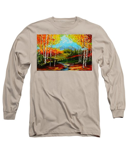 Colorful Spring Long Sleeve T-Shirt