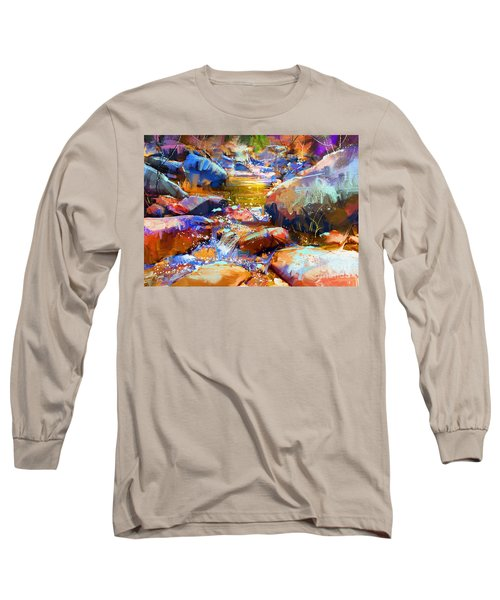 Colorful Stones Long Sleeve T-Shirt