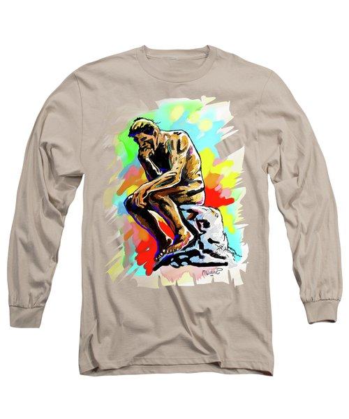 Colorful Thinker Long Sleeve T-Shirt