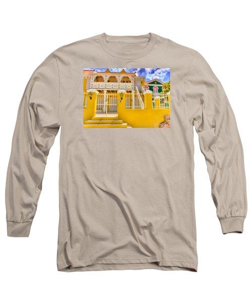 Colors Of Paradise Long Sleeve T-Shirt by Nadia Sanowar