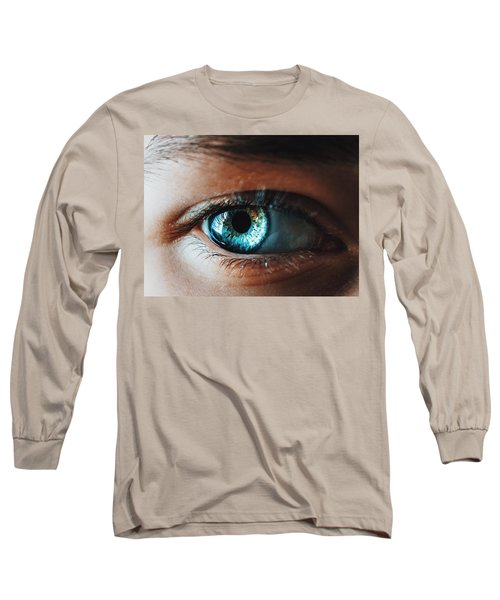 Long Sleeve T-Shirt featuring the photograph Colors by Parker Cunningham