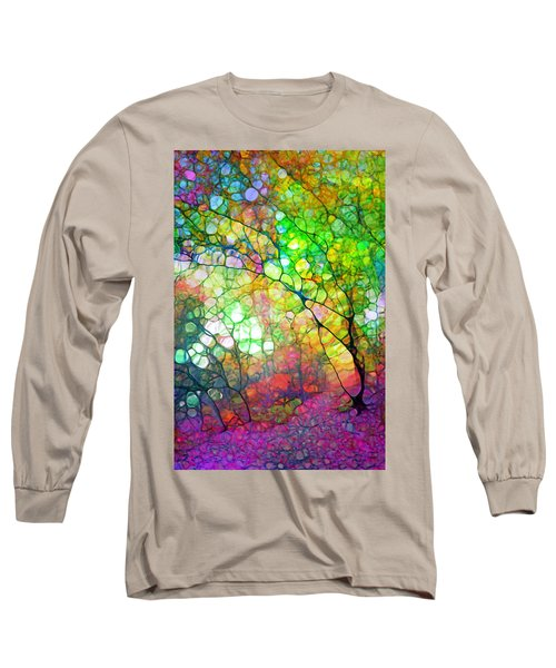 Colour Combustion Long Sleeve T-Shirt