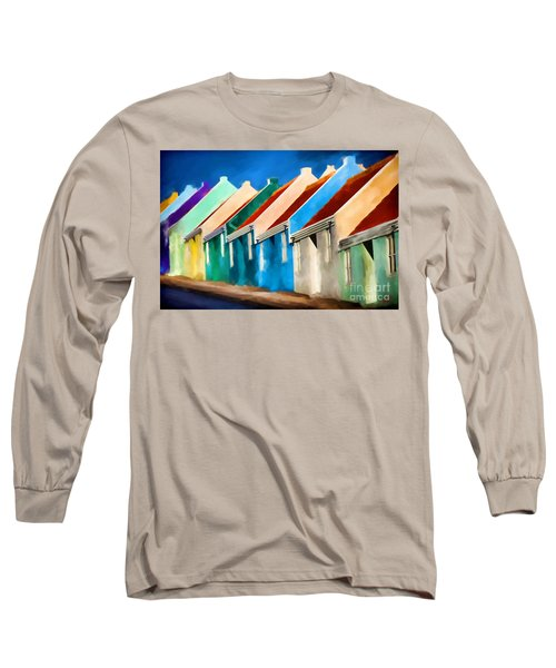 Coloured Long Sleeve T-Shirt by Jim  Hatch