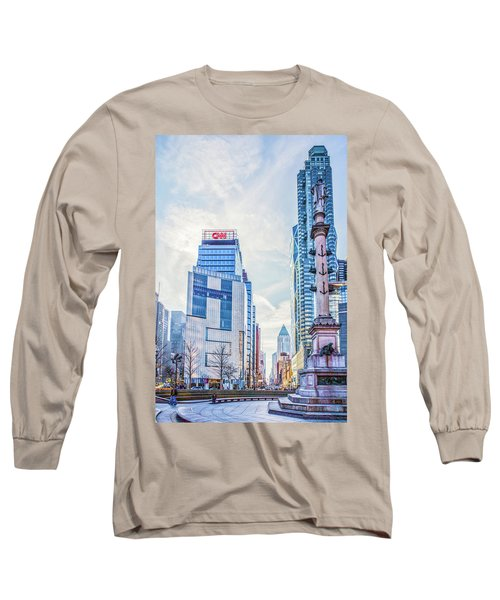 Columbus Circle Long Sleeve T-Shirt