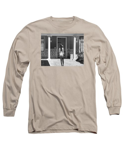 Columns Long Sleeve T-Shirt by Emada Photos