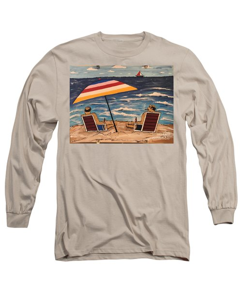 Comb Over Brothers Long Sleeve T-Shirt