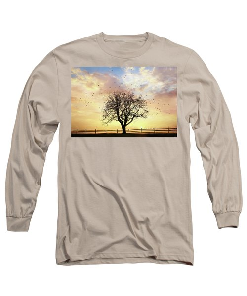 Long Sleeve T-Shirt featuring the photograph Come Fly Away by Lori Deiter