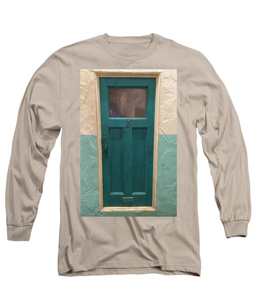Long Sleeve T-Shirt featuring the photograph Come In And Chat by Peggy Stokes