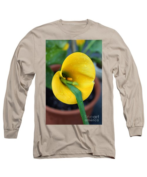 Come Out Come Out Long Sleeve T-Shirt by Marie Neder