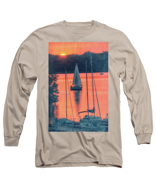 Come Sail Away Long Sleeve T-Shirt by Pamela Williams