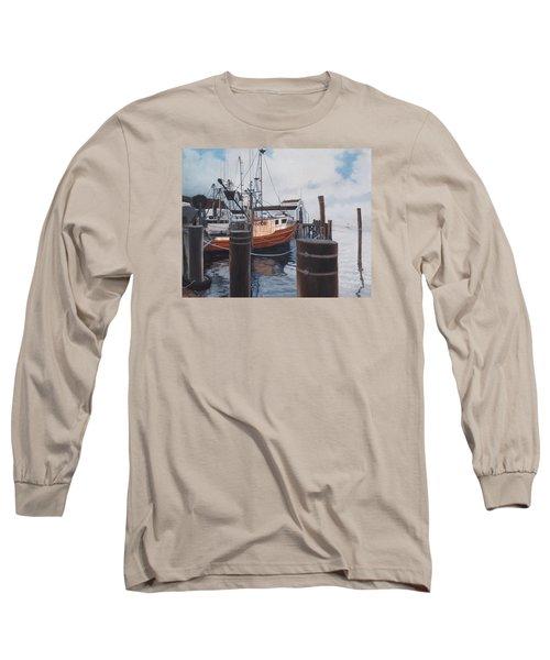 Coming Home Long Sleeve T-Shirt by Barbara Barber