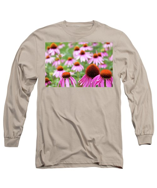 Long Sleeve T-Shirt featuring the photograph Coneflowers by David Chandler