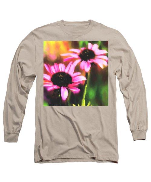 Coneflowers Long Sleeve T-Shirt