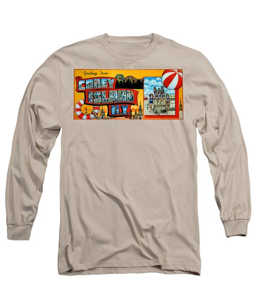Coney Island New York Long Sleeve T-Shirt