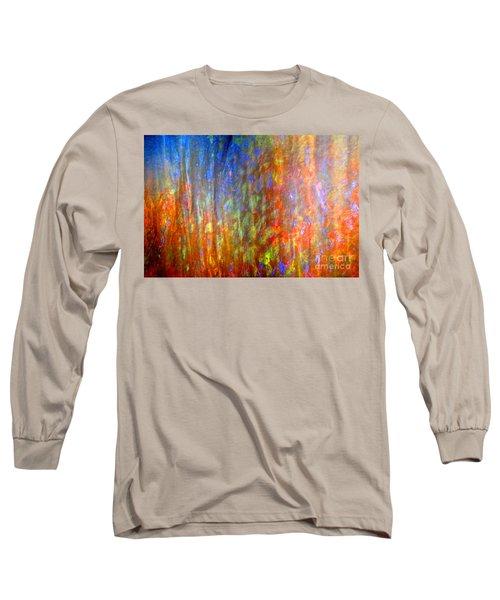 Confident Drapery Long Sleeve T-Shirt