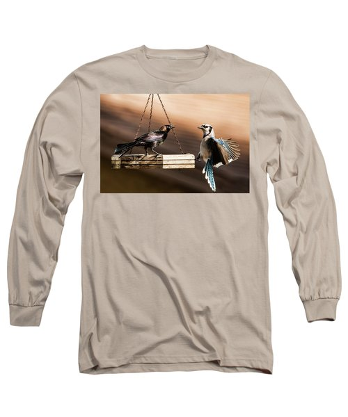 Confrontation Long Sleeve T-Shirt by Don Durfee