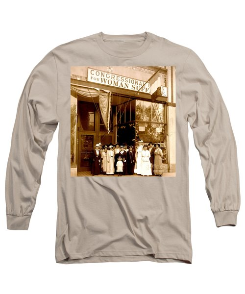 Congressional Union For Woman Suffrage Colorado Headquarters 1914 Long Sleeve T-Shirt