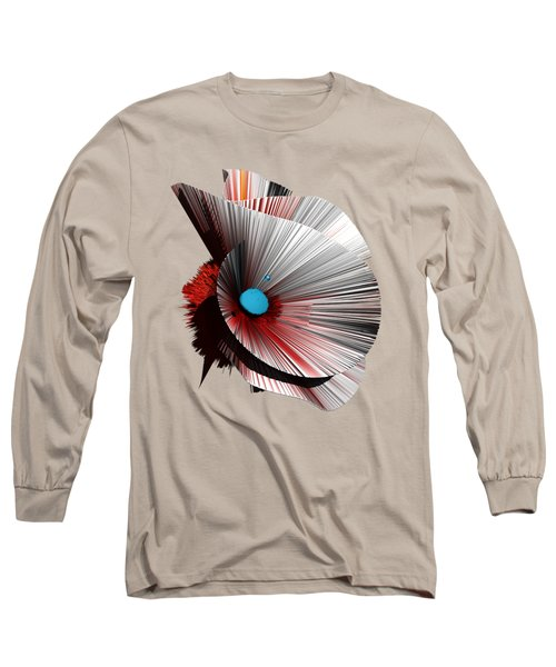 Consciousness Of The Inanimate Painting As A Spherical Depth Map. B Long Sleeve T-Shirt