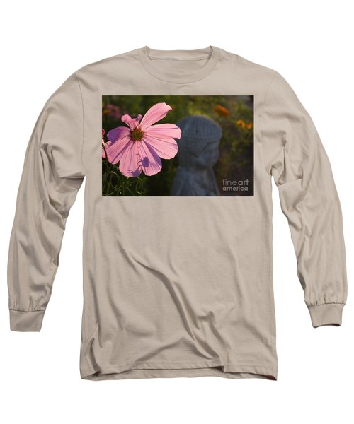 Long Sleeve T-Shirt featuring the photograph Contemplating The Cosmo by Brian Boyle