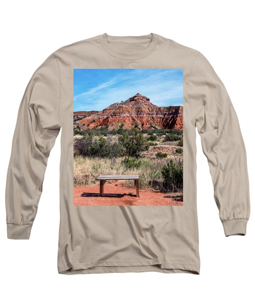 Contemplation Bench Long Sleeve T-Shirt