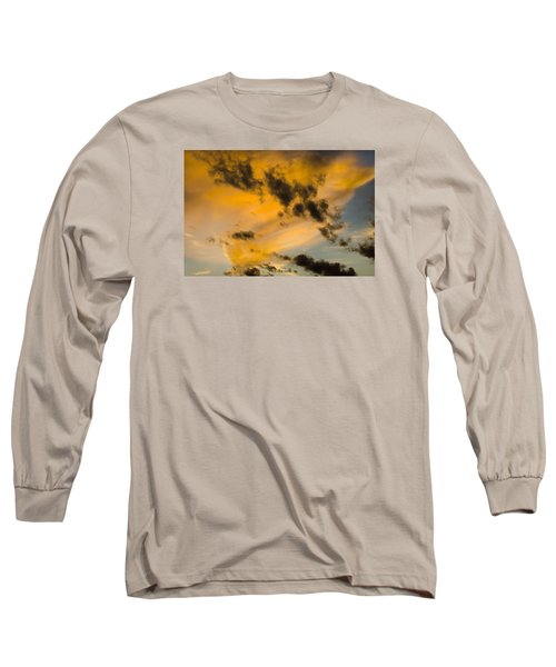Long Sleeve T-Shirt featuring the photograph Contrasts by Wanda Krack