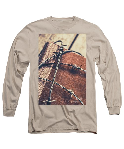 Control And Confidentiality Long Sleeve T-Shirt