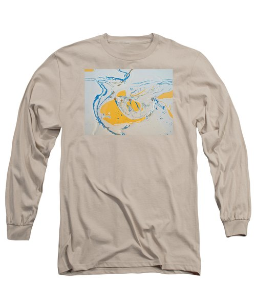 Convertible Flooded In Vegas Long Sleeve T-Shirt by Gyula Julian Lovas