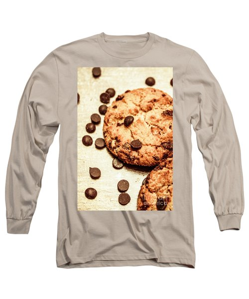 Cookies With Chocolare Chips Long Sleeve T-Shirt