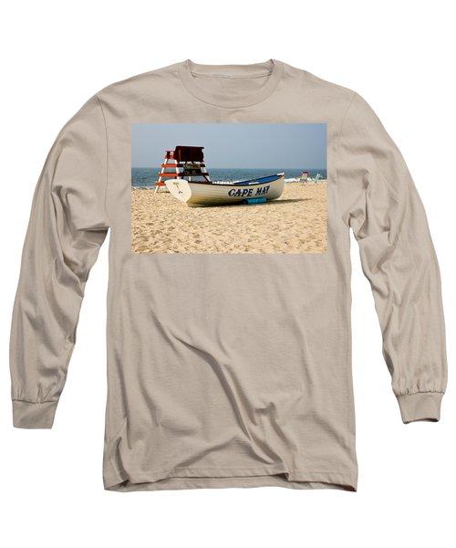 Cool Cape May Beach Long Sleeve T-Shirt